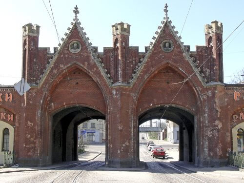 Калининград. Бранденбургские ворота