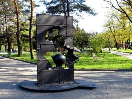 Памятник барону Мюнхгаузену в Калининграде