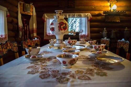 чаепитие в Уч-Дере